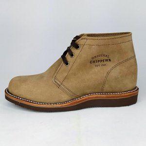 """Chippewa Milford 5"""" Khaki Chukka Boots Mens 7E"""